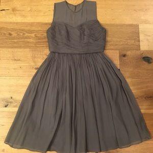 J.Crew Clara Dress in Silk Chiffon
